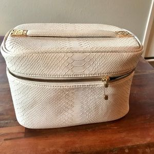 Kendra Scott White Carry All Train Case